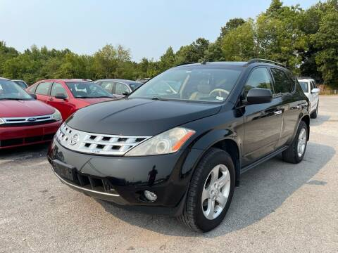 2003 Nissan Murano for sale at Best Buy Auto Sales in Murphysboro IL