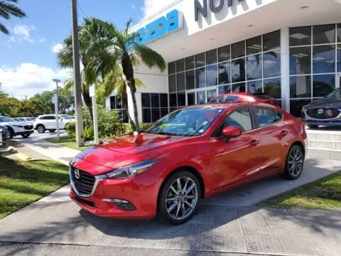 2018 Mazda MAZDA3 for sale at Mazda of North Miami in Miami FL