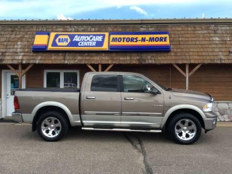 2010 Dodge Ram Pickup 1500 for sale at MOTORS N MORE in Brainerd MN