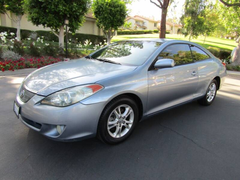 2005 Toyota Camry Solara for sale at E MOTORCARS in Fullerton CA