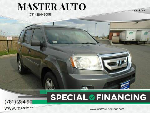 2011 Honda Pilot for sale at Master Auto in Revere MA