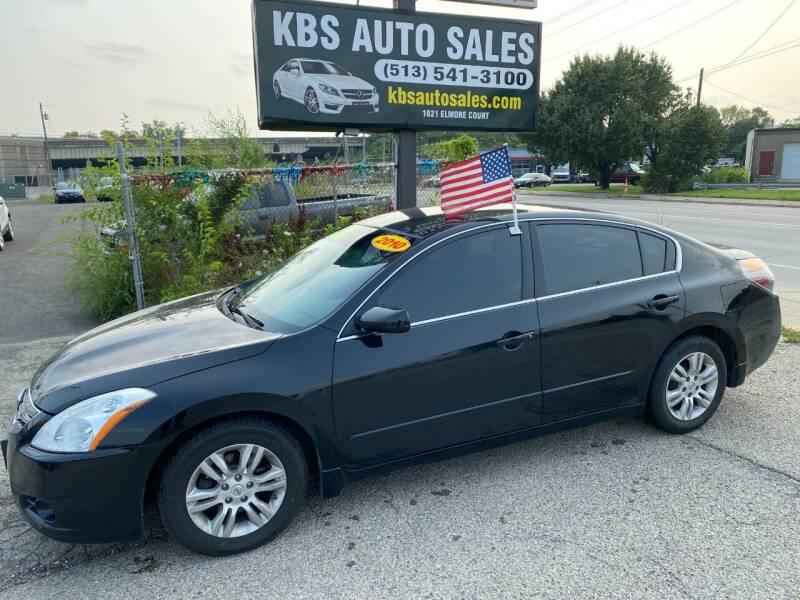 2010 Nissan Altima for sale at KBS Auto Sales in Cincinnati OH