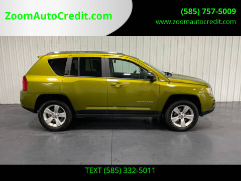 2012 Jeep Compass for sale at ZoomAutoCredit.com in Elba NY