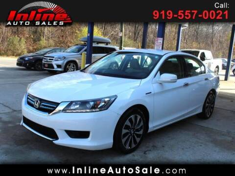 2015 Honda Accord Hybrid for sale at Inline Auto Sales in Fuquay Varina NC
