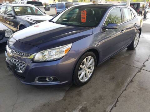 2015 Chevrolet Malibu for sale at Springfield Select Autos in Springfield IL