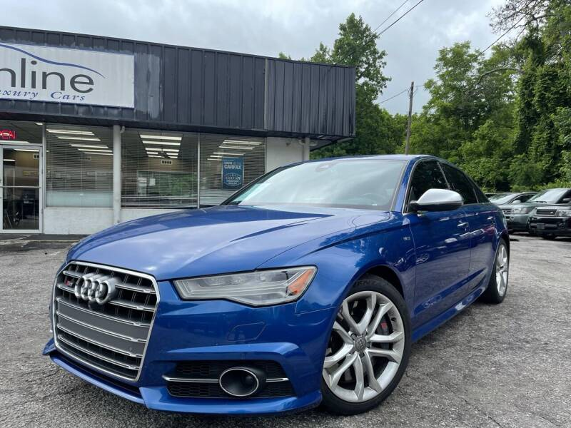2016 Audi S6 for sale at Car Online in Roswell GA