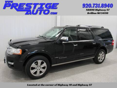 2016 Ford Expedition EL for sale at Prestige Auto Sales in Brillion WI