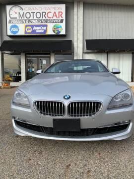 2013 BMW 6 Series for sale at Grand Rapids Motorcar in Grand Rapids MI