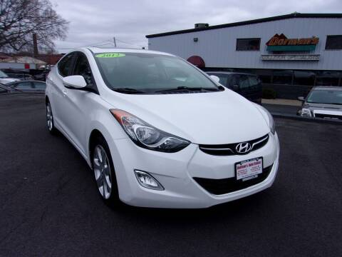 2012 Hyundai Elantra for sale at Dorman's Auto Center inc. in Pawtucket RI