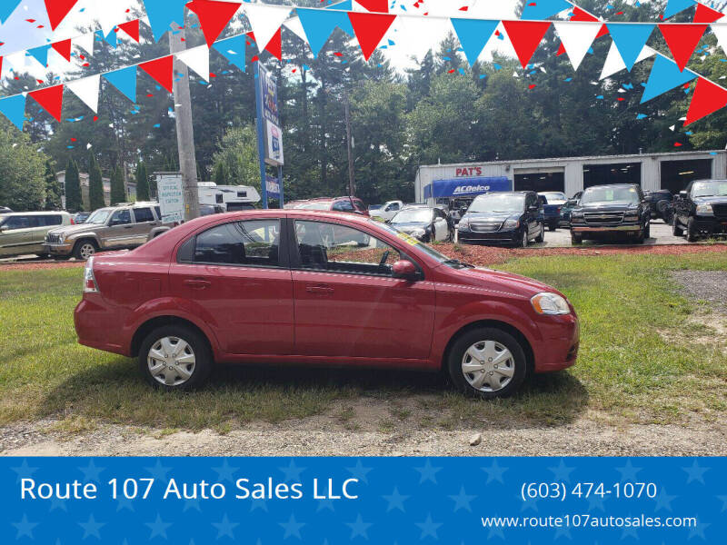 2010 Chevrolet Aveo for sale at Route 107 Auto Sales LLC in Seabrook NH
