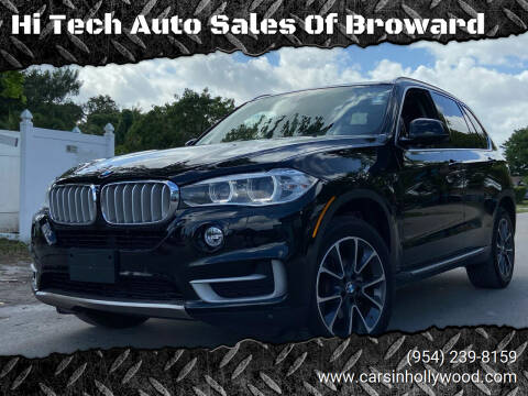 2014 BMW X5 for sale at Hi Tech Auto Sales Of Broward in Hollywood FL