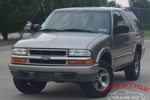 2003 Chevrolet Blazer for sale at Prestige Trade Inc in Philadelphia PA