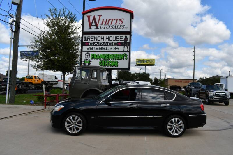 2008 Infiniti M45 for sale at WHITT'S AUTO SALES, LLC in Houston TX