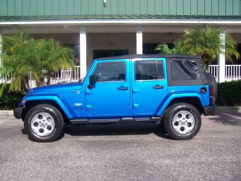 2015 Jeep Wrangler Unlimited for sale at Thomas Auto Mart Inc in Dade City FL