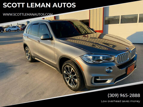 2017 BMW X5 for sale at SCOTT LEMAN AUTOS in Goodfield IL