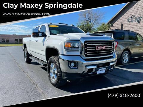 2018 GMC Sierra 2500HD for sale at Clay Maxey Springdale in Springdale AR