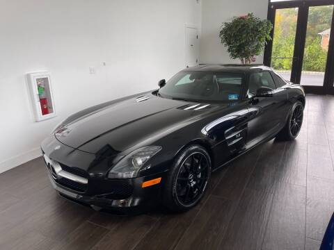 2012 Mercedes-Benz SLS AMG for sale at Shedlock Motor Cars LLC in Warren NJ