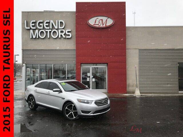 2015 Ford Taurus for sale at Legend Motors of Detroit - Legend Motors of Ferndale in Ferndale MI