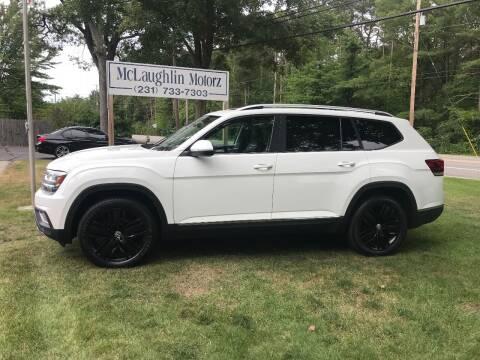 2018 Volkswagen Atlas for sale at McLaughlin Motorz in North Muskegon MI