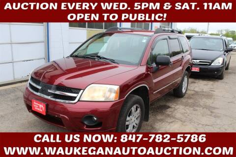 2007 Mitsubishi Endeavor for sale at Waukegan Auto Auction in Waukegan IL