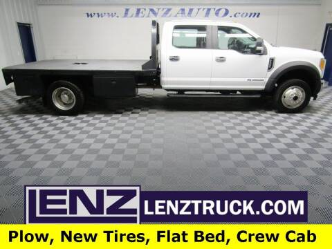 2017 Ford F-550 Super Duty for sale at LENZ TRUCK CENTER in Fond Du Lac WI