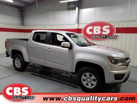 2017 Chevrolet Colorado for sale at CBS Quality Cars in Durham NC