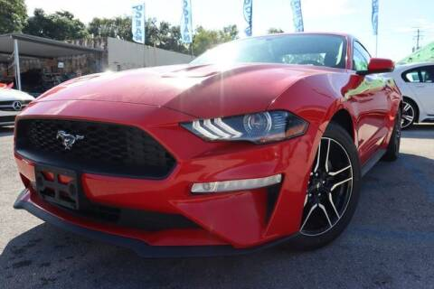 2018 Ford Mustang for sale at OCEAN AUTO SALES in Miami FL