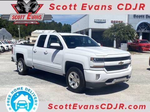 2017 Chevrolet Silverado 1500 for sale at SCOTT EVANS CHRYSLER DODGE in Carrollton GA