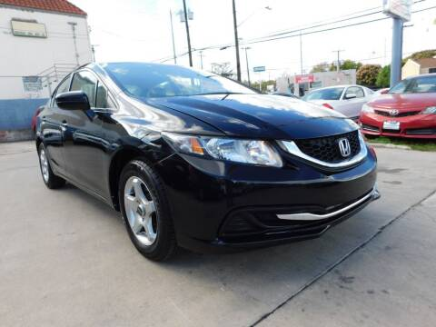 2014 Honda Civic for sale at AMD AUTO in San Antonio TX
