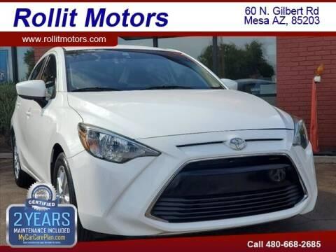 2018 Toyota Yaris iA for sale at Rollit Motors in Mesa AZ