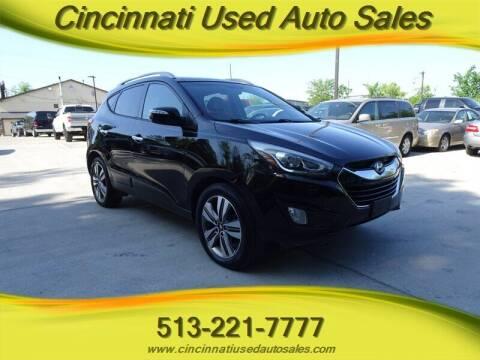 2014 Hyundai Tucson for sale at Cincinnati Used Auto Sales in Cincinnati OH