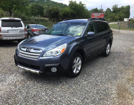 2013 Subaru Outback for sale at Arden Auto Outlet in Arden NC
