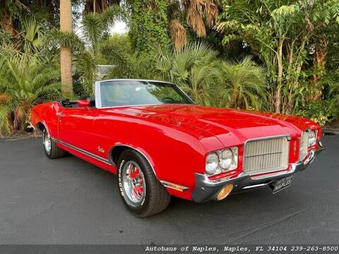1971 Oldsmobile Cutlass for sale at Autohaus of Naples in Naples FL