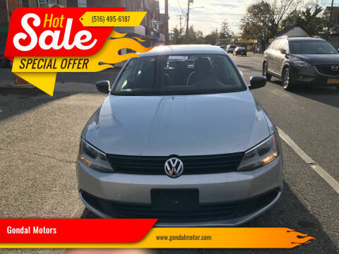2012 Volkswagen Jetta for sale at Gondal Motors in West Hempstead NY