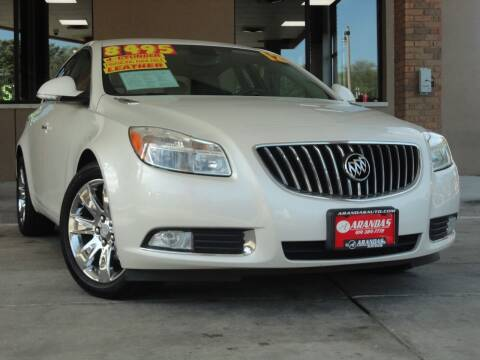 2012 Buick Regal for sale at Arandas Auto Sales in Milwaukee WI