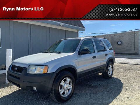 2002 Ford Escape for sale at Ryan Motors LLC in Warsaw IN