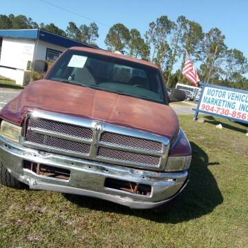 2001 Dodge Ram Pickup 1500 for sale at MOTOR VEHICLE MARKETING INC in Hollister FL