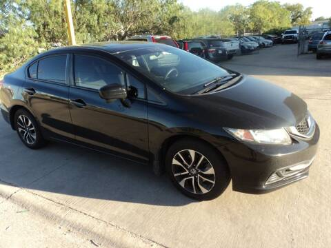 2015 Honda Civic for sale at SPORT CITY MOTORS in Dallas TX