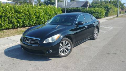 2013 Infiniti M37 for sale at Easy Finance Motors in West Park FL
