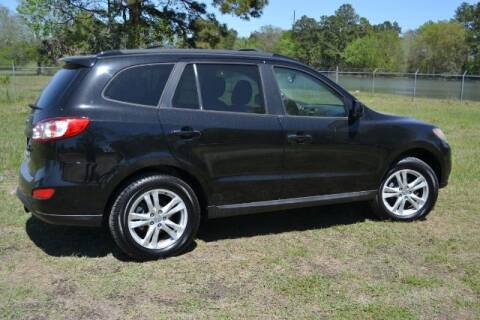 2012 Hyundai Santa Fe for sale at WOODLAKE MOTORS in Conroe TX