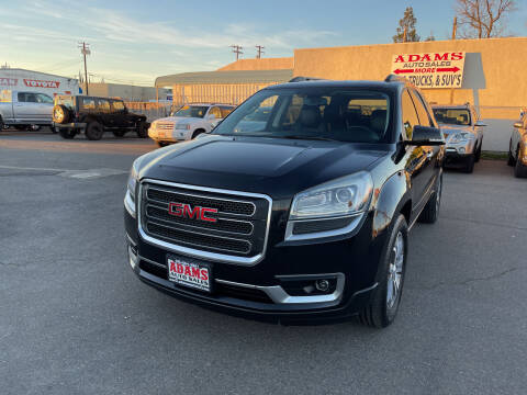 2013 GMC Acadia for sale at Adams Auto Sales in Sacramento CA