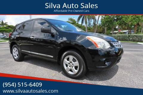 2012 Nissan Rogue for sale at Silva Auto Sales in Pompano Beach FL