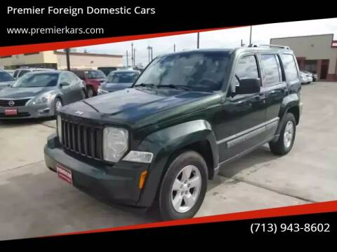 2010 Jeep Liberty for sale at Premier Foreign Domestic Cars in Houston TX