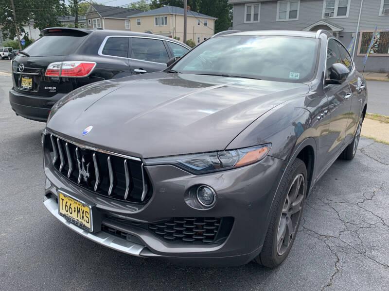 2017 Maserati Levante for sale at M & C AUTO SALES in Roselle NJ