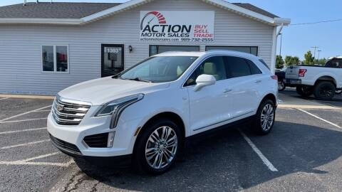 2017 Cadillac XT5 for sale at Action Motor Sales in Gaylord MI