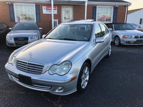 2007 Mercedes-Benz C-Class for sale at Carland Auto Sales INC. in Portsmouth VA