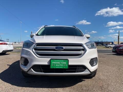 2018 Ford Escape for sale at Primetime Auto in Corpus Christi TX