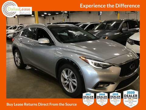 2018 Infiniti QX30 for sale at Dallas Auto Finance in Dallas TX