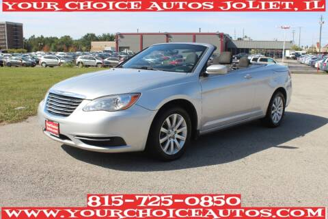 2011 Chrysler 200 Convertible for sale at Your Choice Autos - Joliet in Joliet IL