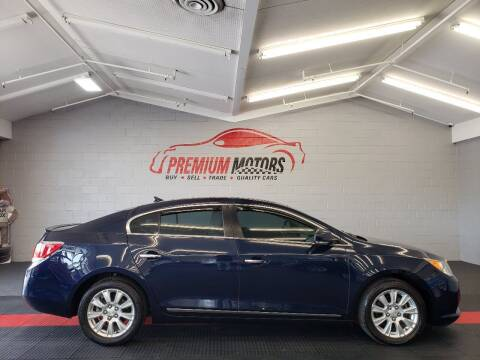 2012 Buick LaCrosse for sale at Premium Motors in Villa Park IL